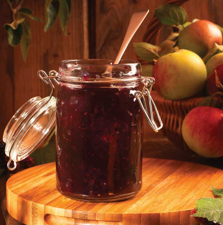 Damson and Apple Jam